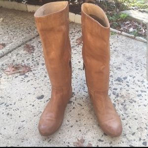 Frye pull on boots
